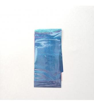 Transfer Foil Laser Holo Blue